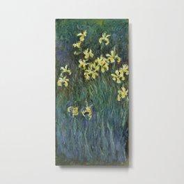 Claude Monet - Irises Metal Print