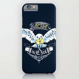 Owl Post iPhone Case