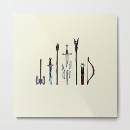 Fellowship of the arms Metal Print