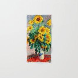 Bouquet of Sunflowers Hand & Bath Towel