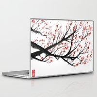 sakura Laptop & iPad Skins featuring Sakura by rchaem