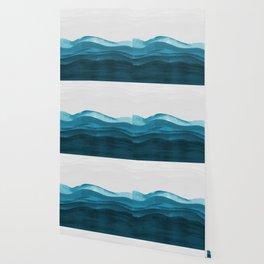 Ocean waves paint Wallpaper