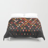 fall Duvet Covers featuring Fall by Last Call