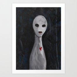 Portraits of Ghosts #5 Art Print