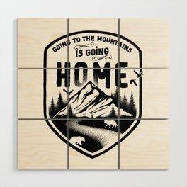 HOME Wood Wall Art
