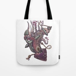 octopus and anchor Tote Bag