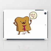 bread iPad Cases featuring bread by Melissa Ballesteros Parada