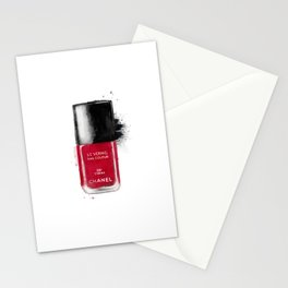 Red fashion Stationery Cards