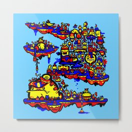 Slug City Metal Print