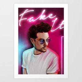 Dan Smit - Fake It Art Print