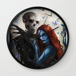 skeleton girls Wall Clock