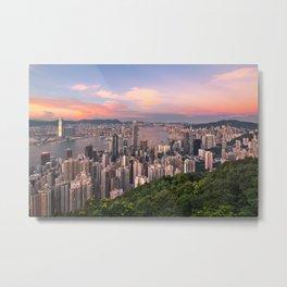 HONG KONG 15 Metal Print