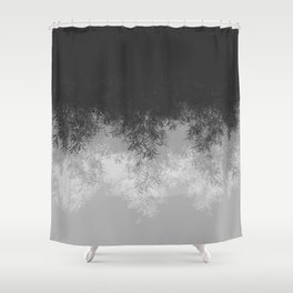 Willow (Gray) Shower Curtain