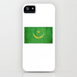 Mauritania Flag design   Mauritanian design iPhone Case
