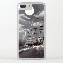 Storm Corrosion Clear iPhone Case