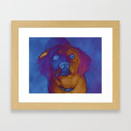 Woof Framed Art Print