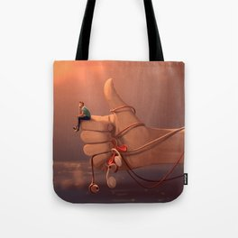 Connected to myself Tote Bag