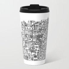 Busy City V Metal Travel Mug