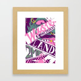 Wastelands Part 2. Framed Art Print