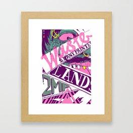 Wastelands Part 2. Framed Art Print