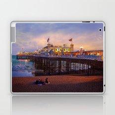 Brighton Pier Twilight Laptop & iPad Skin