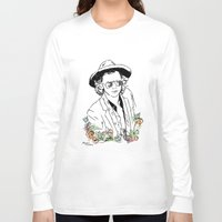 harry styles Long Sleeve T-shirts featuring Harry Styles by Mariam Tronchoni