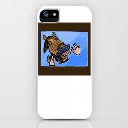 Aaah! III iPhone Case