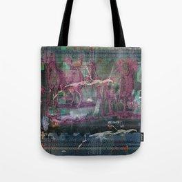 Glitch Zoo Chaos Tote Bag