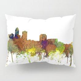 Des Moines, Iowa Skyline SG - Safari Buff Pillow Sham