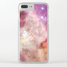 Orion Nebulas Thousands of Stars Clear iPhone Case