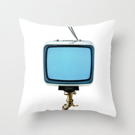 the truth is dead · stay at home and watch tv Throw Pillow