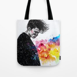I hope to find relief this night Tote Bag