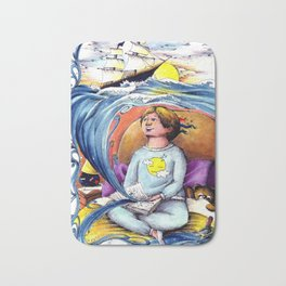 Sea stories Bath Mat