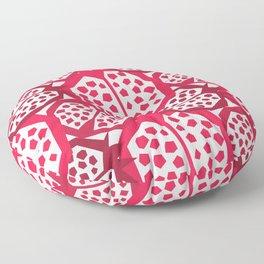 Pomegranate Patterns Floor Pillow