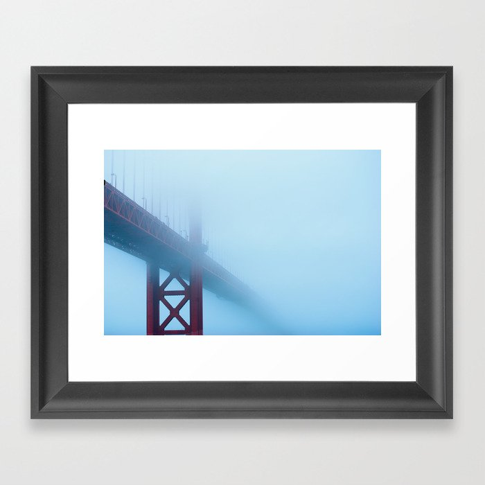 Into The Descent Framed Art Print