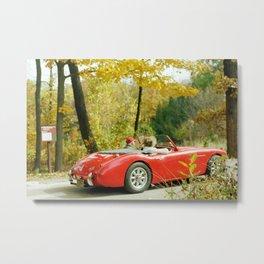 Fall Sports Car II Metal Print