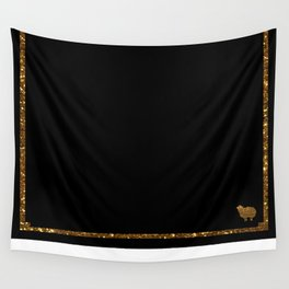 Golden sheep you are special  Wall Tapestry