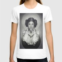 princess leia T-shirts featuring Star Wars Princess Leia by Alexandra Bastien
