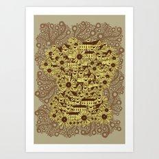 Mathematically Art Print