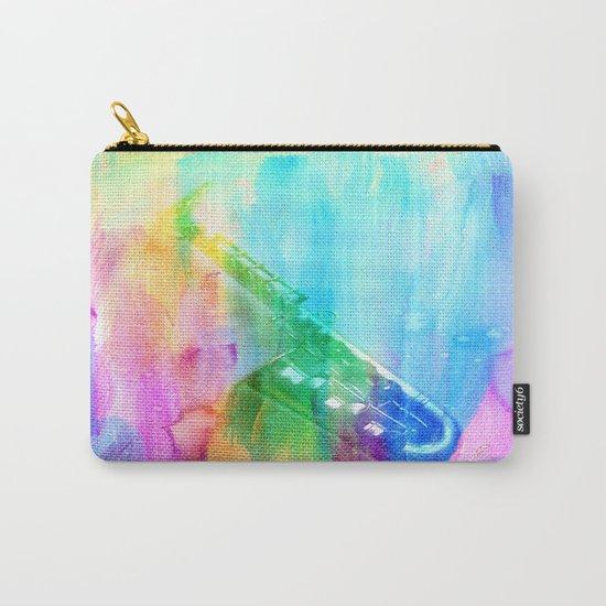 Sax Rainbow Carry-All Pouch