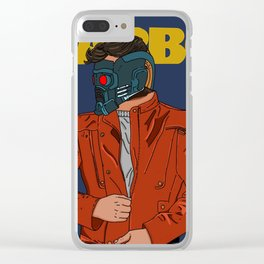 Im a mother*!%#@ Star-Lord Clear iPhone Case