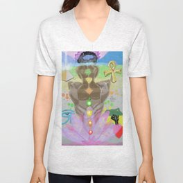 UNIVERSAL ALIGNMENT SEX MAGIC Unisex V-Neck
