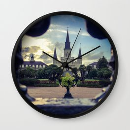 Through the Iron Gates Wall Clock