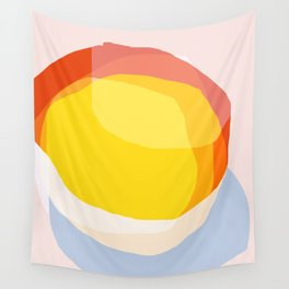 Tropical Sunny Day (Abstract) Wall Tapestry