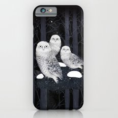 Snow Owls Slim Case iPhone 6