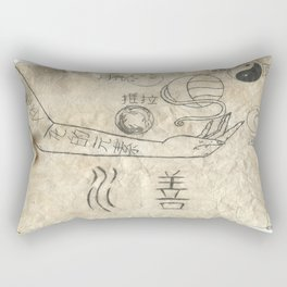 Water is the Element of Change Rectangular Pillow