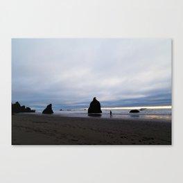 Ocean by Dusk Canvas Print