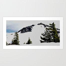 Crater Lake Watchman Overlook Art Print