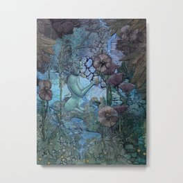 Gaian Forest Metal Print