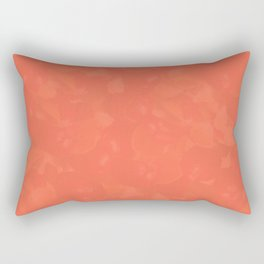 Bittersweet Persimmon Rectangular Pillow